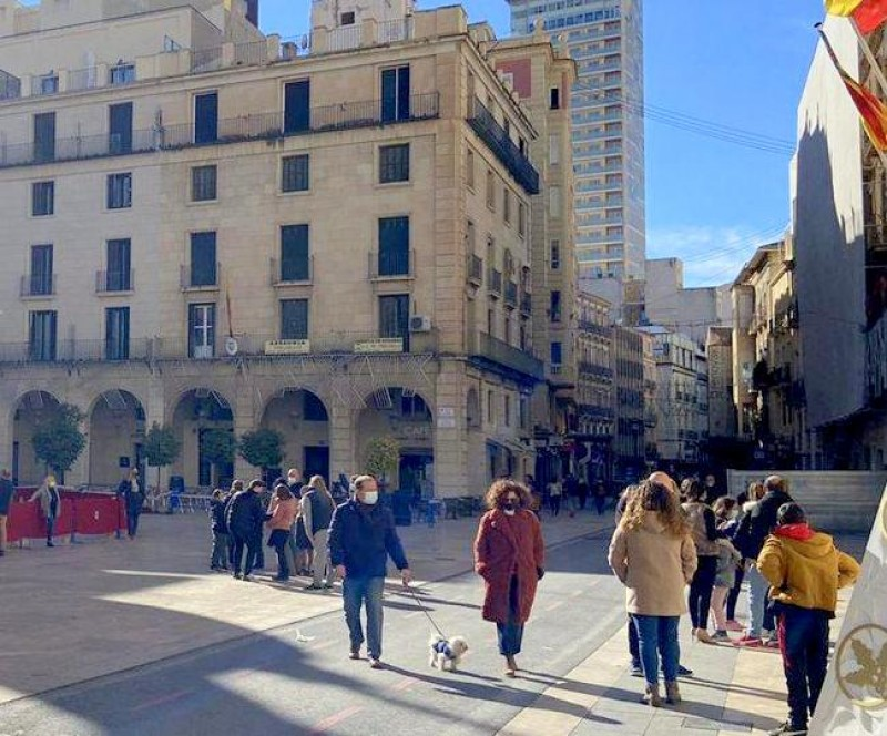 Alicante city centre is opened up to pedestrians on Sundays in pilot scheme