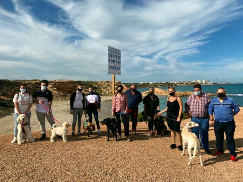 Orihuela opens its first beach for dogs