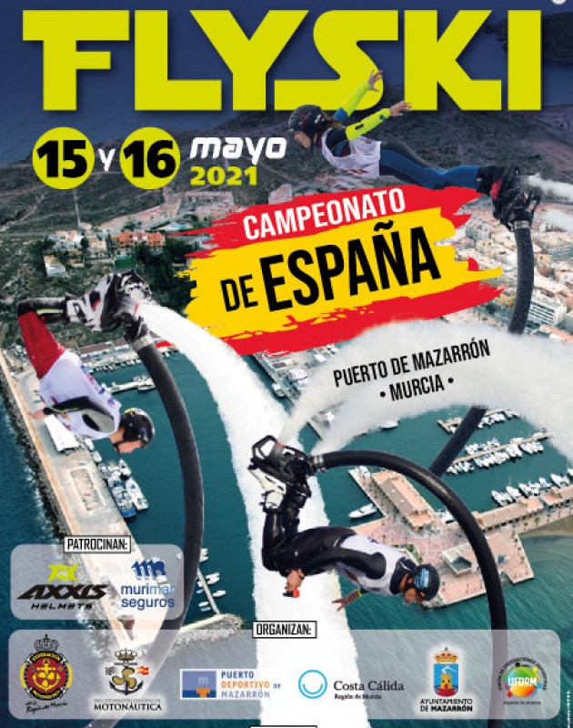 15th and 16th May Spanish national FlySki championship in Puerto de Mazarrón