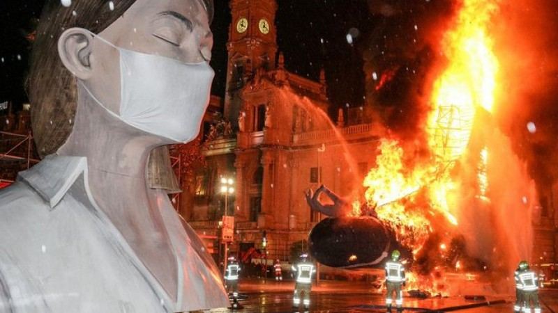 Larger than life Fallas of Valencia to make a spectacular comeback in September
