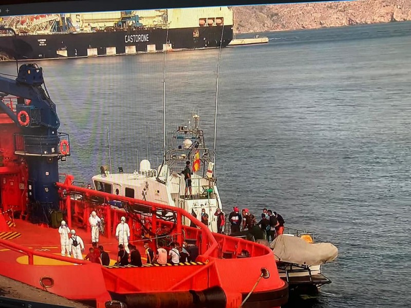 <span style='color:#780948'>ARCHIVED</span> - Two men accused of skippering migrant boat to Almeria face 7 years in prison