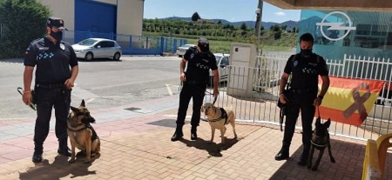 <span style='color:#780948'>ARCHIVED</span> - Cehegín welcomes new Canine Unit to the local police force