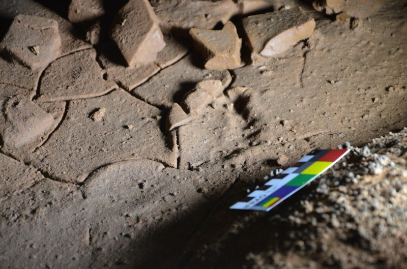 Child footprints thought to be 16,500 years old unearthed in Cantabrian cave