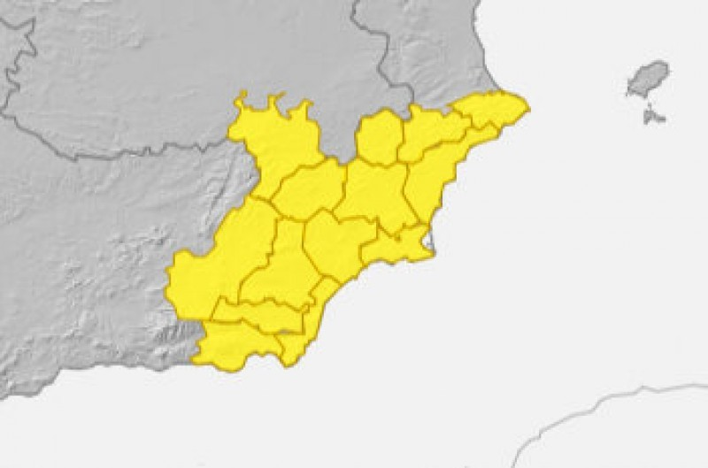 <span style='color:#780948'>ARCHIVED</span> - Warnings for possible torrential rain in Murcia, Alicante and Almería on Sunday