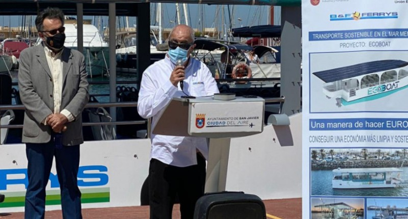 <span style='color:#780948'>ARCHIVED</span> - Solar-powered Ecoboat operates Mar Menor summer ferry service