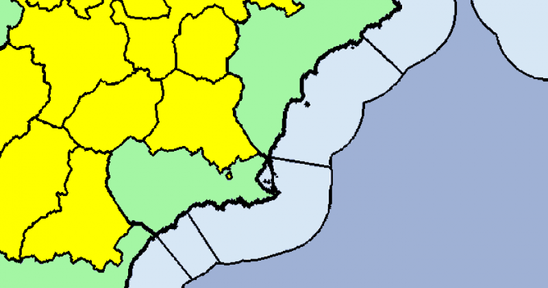 <span style='color:#780948'>ARCHIVED</span> - Much of Murcia on thunderstorm alert on Tuesday afternoon