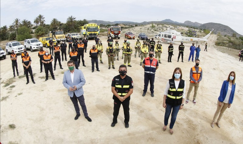 <span style='color:#780948'>ARCHIVED</span> - 2021 wildfire prevention and detection campaign begins in Murcia