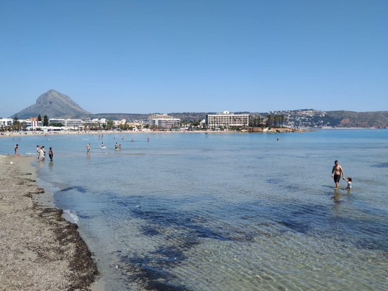 Tragedy as pensioner drowns at Javea beach on the Costa Blanca