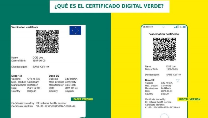 <span style='color:#780948'>ARCHIVED</span> - Murcia prepares to issue Covid passports before the end of June
