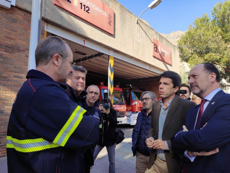 Orihuela agrees site for new fire station