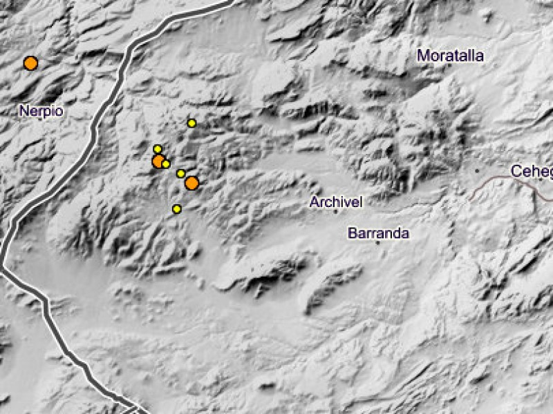Seven minor earthquakes in under 36 hours in north-west Murcia