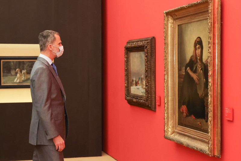 <span style='color:#780948'>ARCHIVED</span> -  Spanish Royals open new exhibition at the Alhambra in Granada