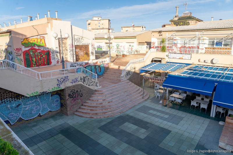 <span style='color:#780948'>ARCHIVED</span> - Further step forwards towards resurrection of Las Dunas commercial centre in Cabo de Palos