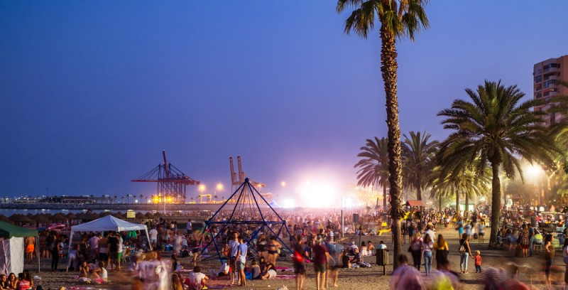 <span style='color:#780948'>ARCHIVED</span> - Malaga beaches closed for Noche de San Juan this year
