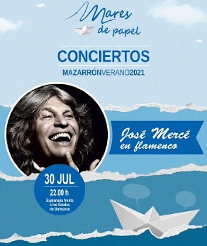<span style='color:#780948'>ARCHIVED</span> - 30th July, flamenco giant José Mercé performs live in Bolnuevo