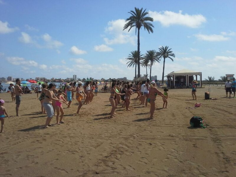 <span style='color:#780948'>ARCHIVED</span> - Free beach sporting activities in Cartagena on 15 beaches