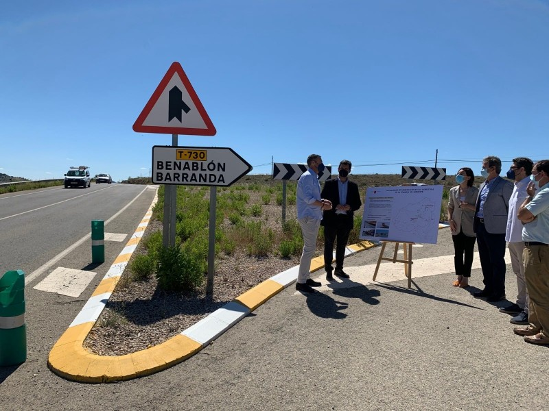 <span style='color:#780948'>ARCHIVED</span> - Murcia invests more than 12 million into road infrastructure in North-west Murcia