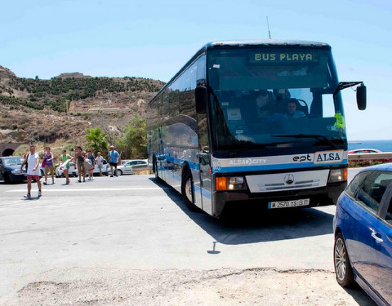 <span style='color:#780948'>ARCHIVED</span> - Summer bus timetables to Cartagena beaches starting from June 25 and July 5