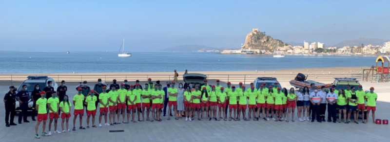 <span style='color:#780948'>ARCHIVED</span> - Beach surveillance and rescue (Plan Copla) begins across Águilas in the Region of Murcia