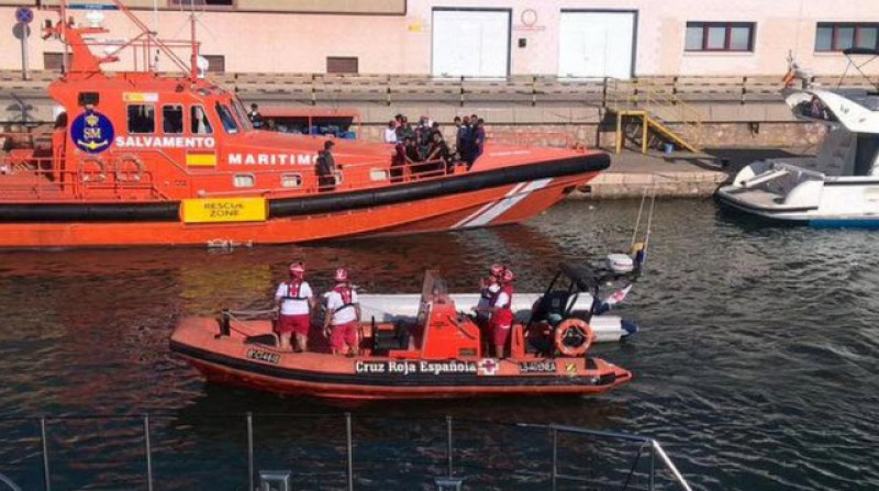 <span style='color:#780948'>ARCHIVED</span> - 11 boats containing 162 irregular migrants reach Murcian coastline