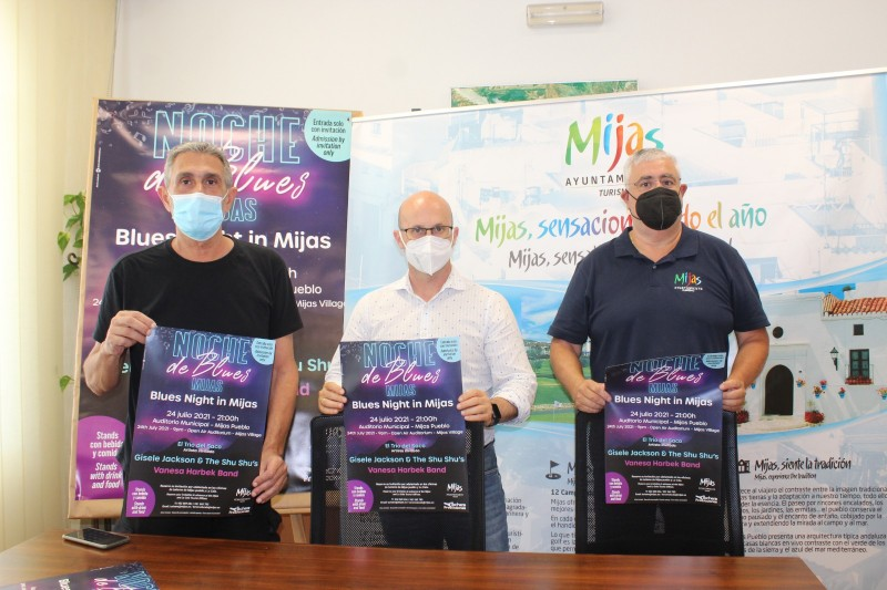 <span style='color:#780948'>ARCHIVED</span> - Mijas offers free Blues Night concert on 24 July