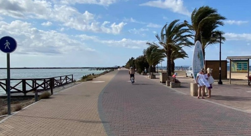 <span style='color:#780948'>ARCHIVED</span> - Improvements made to the Paseo de La Mota in San Pedro del Pinatar