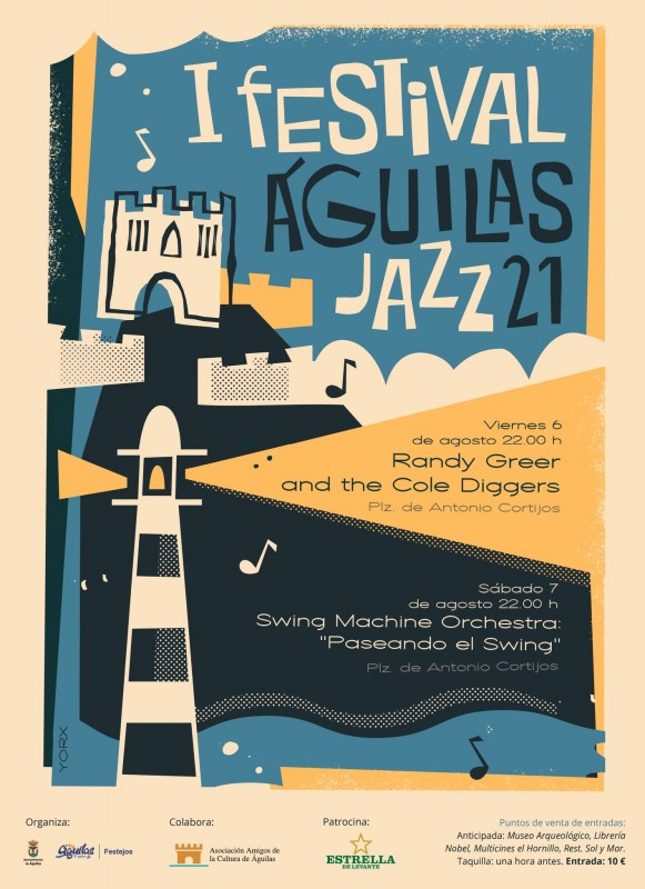 <span style='color:#780948'>ARCHIVED</span> - Águilas Jazz festival on August 6 and 7