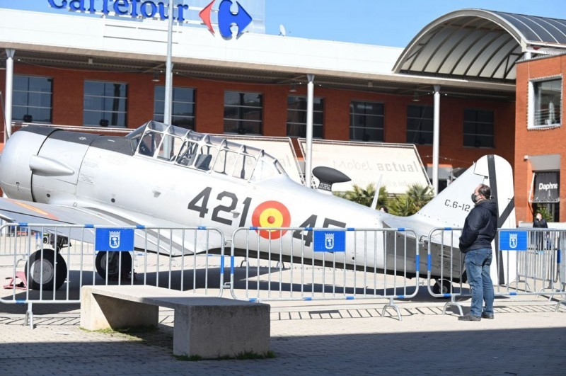 History of flying exhibition at the San Javier Museum from July 16 to 31