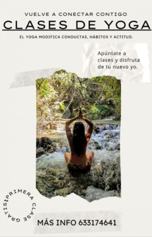 <span style='color:#780948'>ARCHIVED</span> - Outdoor yoga classes in Aguilas this summer