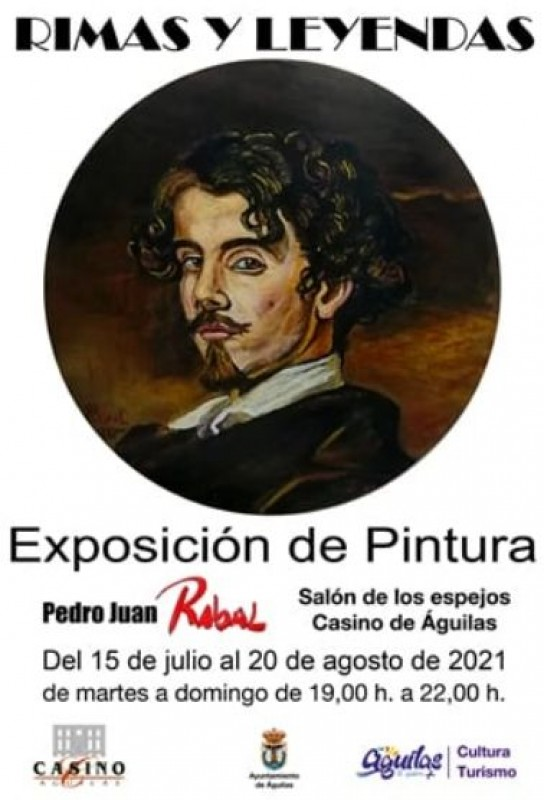 Art exhibition by local artist on display in Aguilas Casino until August 20