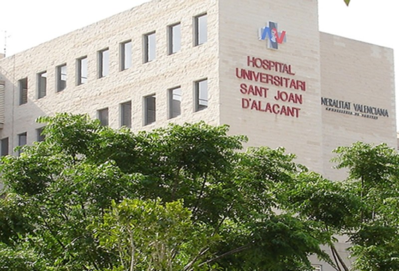 <span style='color:#780948'>ARCHIVED</span> - Patient badly burned in fire at San Juan Hospital in Alicante