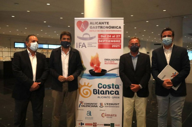Eighty top Spanish chefs sign up for Alicante Gastronomic Fair September 24 to 27