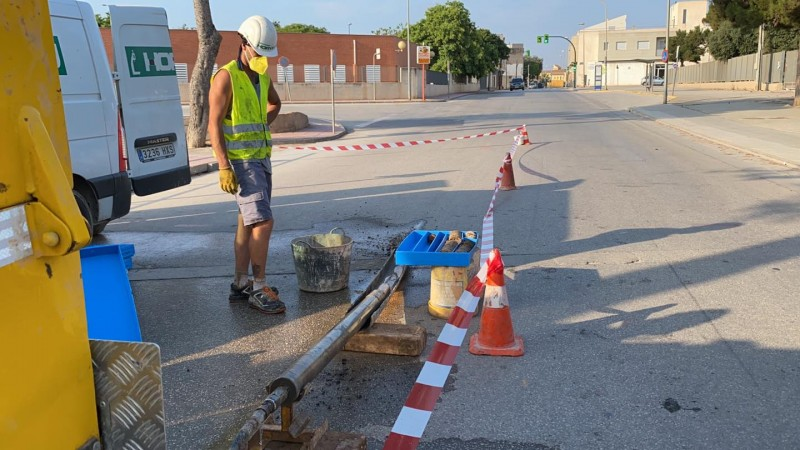 <span style='color:#780948'>ARCHIVED</span> - Torre Pacheco continues works to minimise flooding with Rambla Sur project