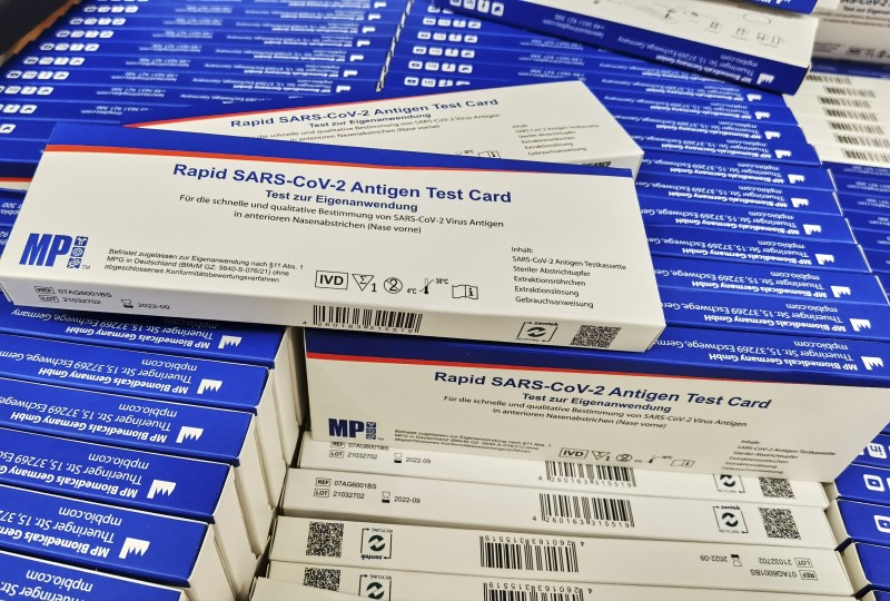 <span style='color:#780948'>ARCHIVED</span> - Pharmacies will notify Murcian Health Service of any positive cases detected using antigen tests