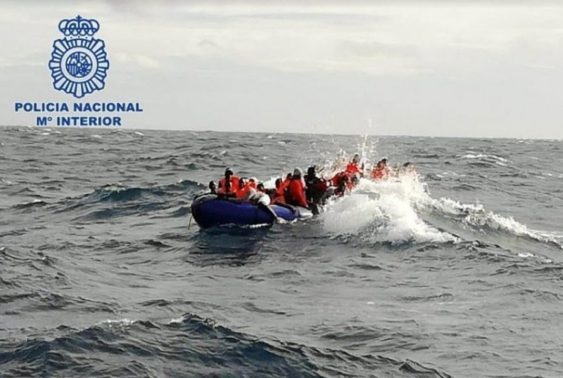 <span style='color:#780948'>ARCHIVED</span> - 63 per cent more illegal migrants have reached Spain so far this year