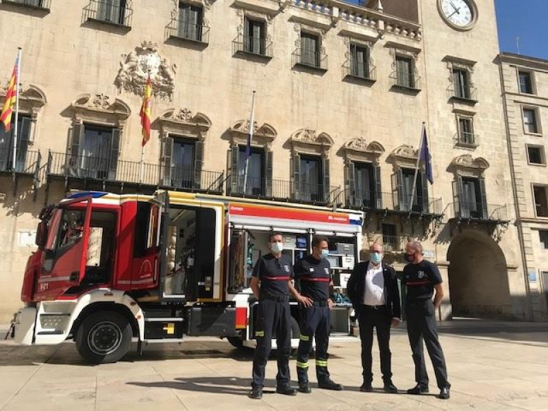 <span style='color:#780948'>ARCHIVED</span> - 2.5 million euros to be invested in Alicante city fire and rescue service