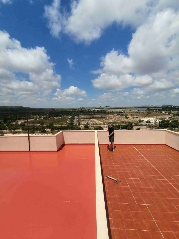 Leak Proof providing solutions for flat roofing throughout Murcia and Alicante
