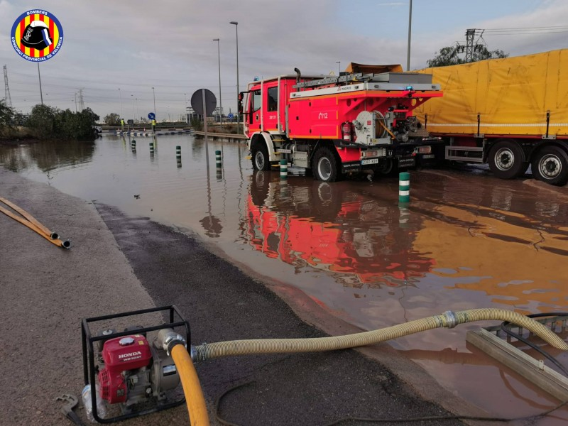 <span style='color:#780948'>ARCHIVED</span> - Torrential rain in Valencia province causes further flooding