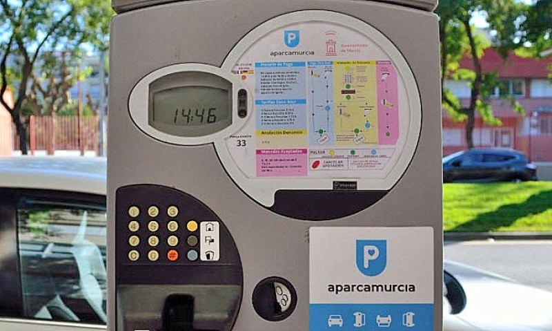 <span style='color:#780948'>ARCHIVED</span> - New parking meters in Murcia city require vehicle matriculation number