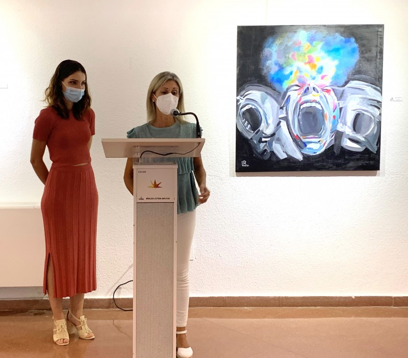 <span style='color:#780948'>ARCHIVED</span> - Enredadas art exhibition in Aguilas Culture House: September 3 to 30