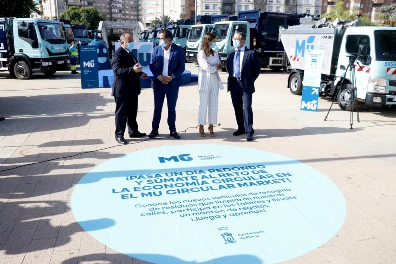 <span style='color:#780948'>ARCHIVED</span> - Murcia city increases high tech energy efficient waste collection fleet
