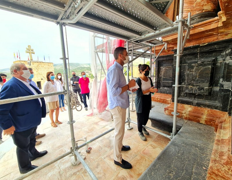 <span style='color:#780948'>ARCHIVED</span> - Restoration work on Caravaca de la Cruz Basilica nearly completed