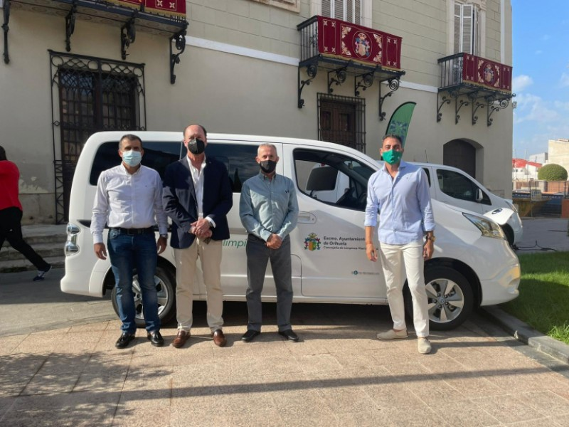 <span style='color:#780948'>ARCHIVED</span> - Orihuela Council adds 100 per cent electric vehicles to its fleet