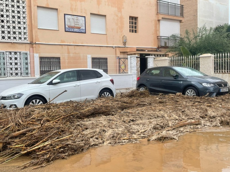 New water pipes in San Javier to ease flooding