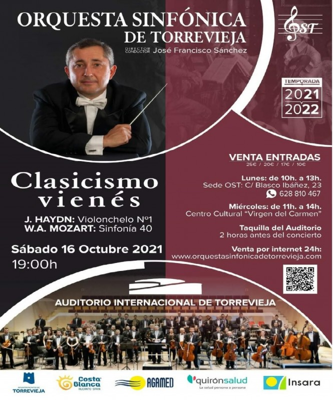 <span style='color:#780948'>ARCHIVED</span> - Torrevieja Symphony Orchestra concert: Saturday October 16