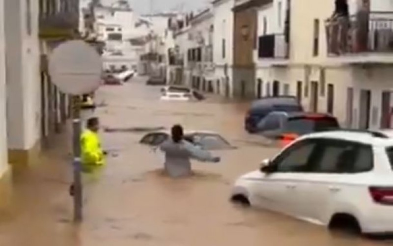 <span style='color:#780948'>ARCHIVED</span> - Catastrophic floods in Huelva, Andalusia: red weather warnings as region receives more rain than expected