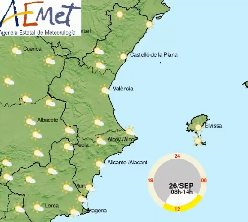 <span style='color:#780948'>ARCHIVED</span> - Spring-like weekend ahead in Alicante with cloud and sunny spells