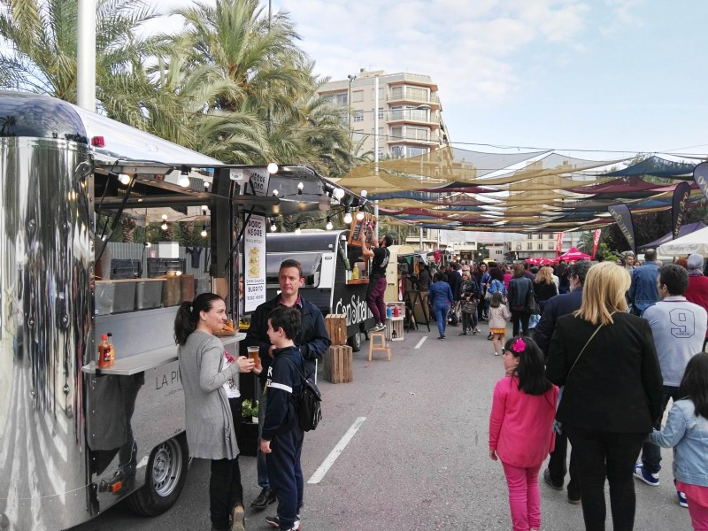 <span style='color:#780948'>ARCHIVED</span> - Street Food Festival returns to Elche: October 1 to 3