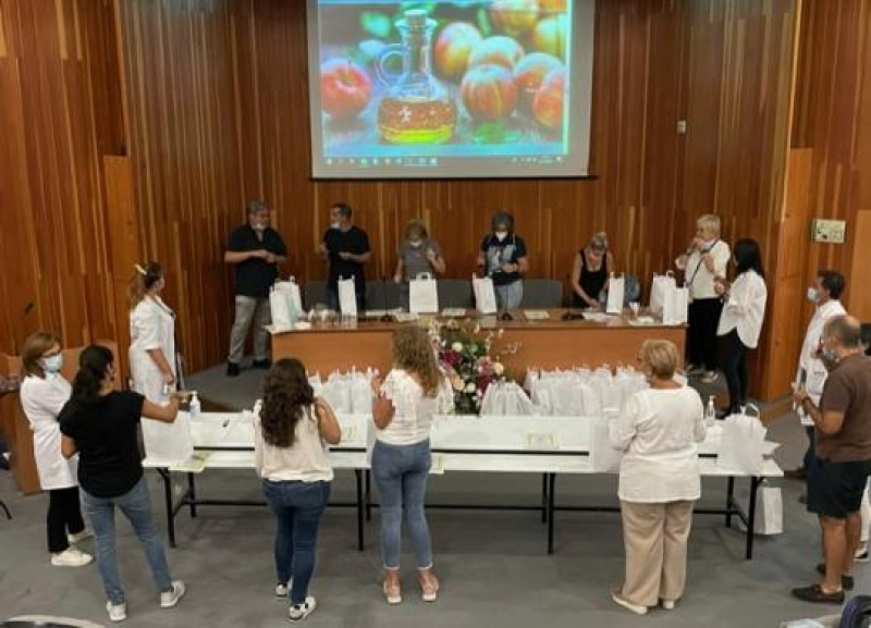 <span style='color:#780948'>ARCHIVED</span> - Training workshop in Huelva to help Covid patients regain sense of smell and taste