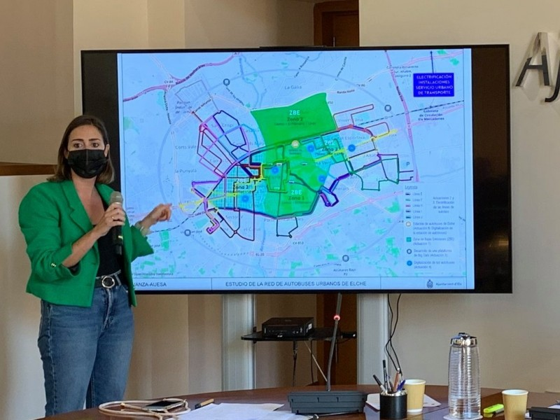 <span style='color:#780948'>ARCHIVED</span> - Elche reveals plans to restrict car use in three low-emission zones by 2023